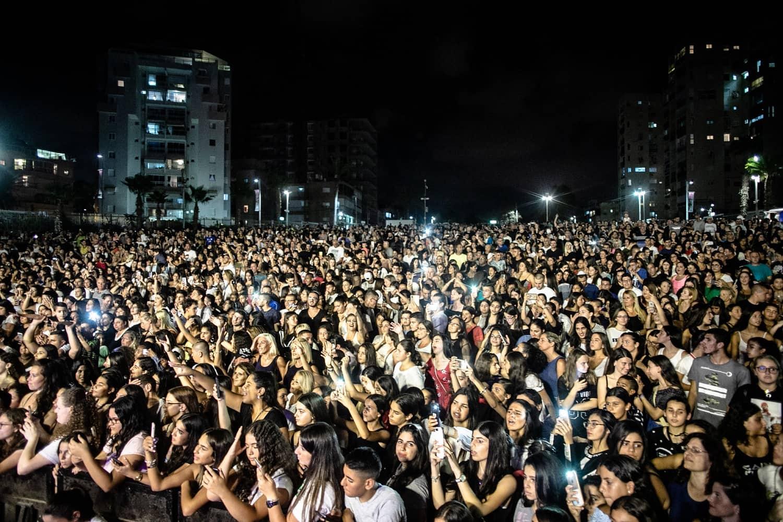 הקהל של בת ים באמפי פיס, צילום: יואב פלי