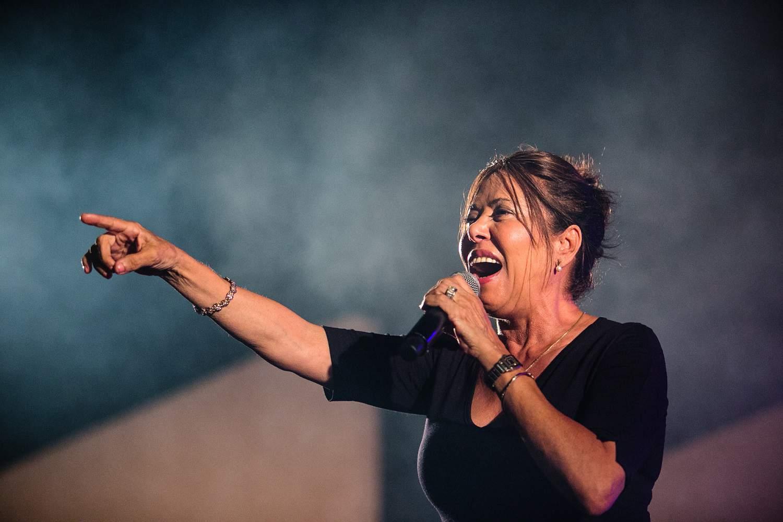 מרגלית צנעני עשתה הופעה מג'נונה, צילום: יואב פלי